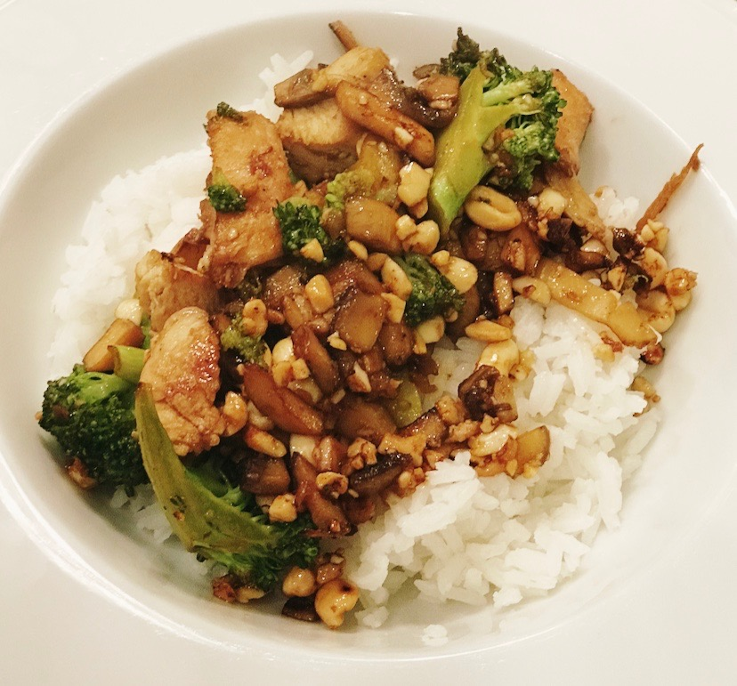 Asian-Style Rice Bowl